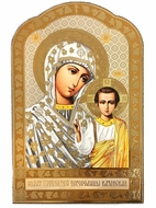 Virgin of Kazan, Wooden Orthodox Icon