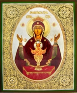 "Virgin Mary ""The Inexhaustible Cup"",  Orthodox Icon"
