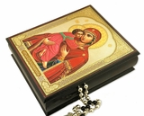 Virgin of Vladimir, Icon Decoupage Box