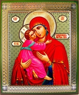 Virgin of Vladimir, Orthodox Icon - SF-336