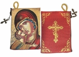 Virgin of Vladimir, Tapestry Pouch Case