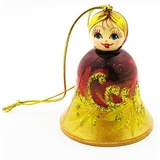 Wooden Bell, Christmas Ornament