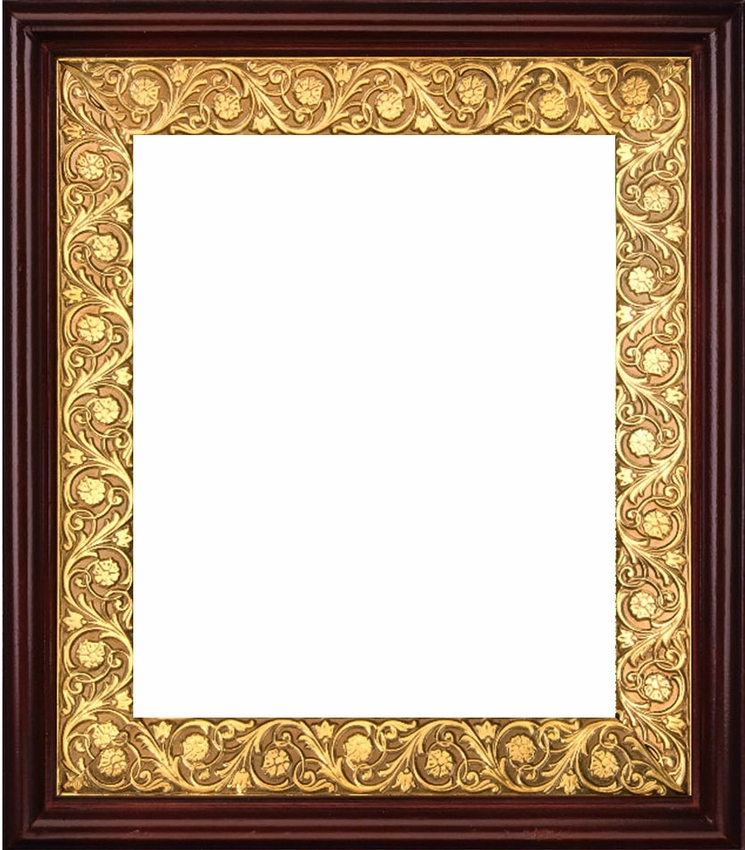 Wooden Frame with Open-Up Door for Large Icons, Hand Carved - at ...
