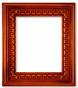 Wooden Frame with  Open-Up Door  for Large Icons, Hand Carved