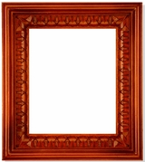Wooden Frame with  Open-Up Door  for Medium Icons, Hand Carved