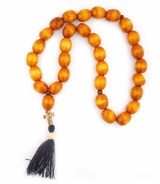 "Wooden Prayer Beads Rope ""Chotki"" with Cross"