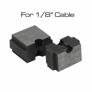 1/8 cable railing crimper die