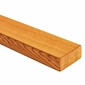 Western Red Cedar Top Rail - 2x4 Clear Grain