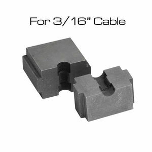 3/16 cable railing crimper die