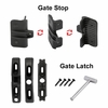cable railing gate hardware