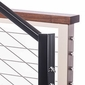 Aluminum Handrail / Top Rail Support