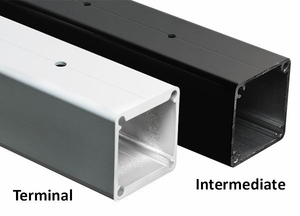 Aluminum Posts for 36in Rail Height Systems