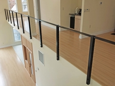 Black Aluminum Cable Railing - Ruther Glen, VA