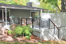 Black Aluminum Cable Railing - Sanford, MI