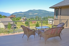 Bronze Aluminum Cable Railing - White Salmon, WA