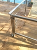 Cable Railing Gate - Stainless Round