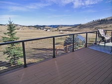 Black Aluminum Cable Railing - Golden, CO