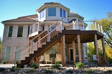 Clay Aluminum Cable Railing - Blue Springs, MO