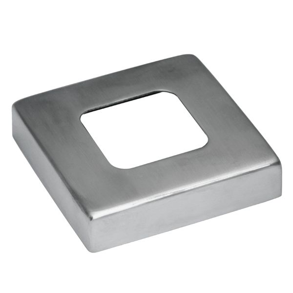 Square Metal Post cover plate for square stainless steel terminal posts