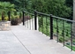 Deck Hand Rail with Stainless Steel Cable