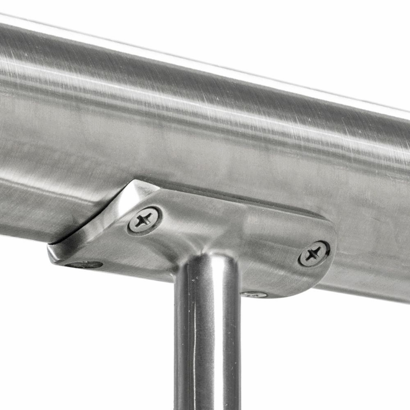 Post cap top rail mount for quot round stainless steel posts