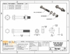 specifications for hex bolt assembly