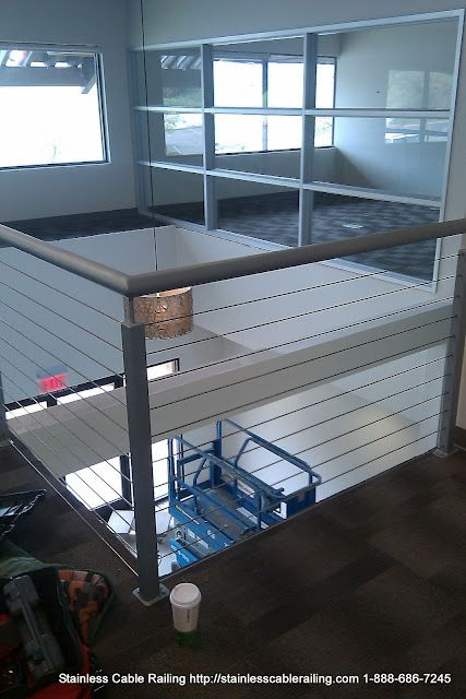 Pre Fab Hand Rail System with Stainless Steel Cable Railing Wire Rope