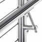 Stainless Round Handrail Components