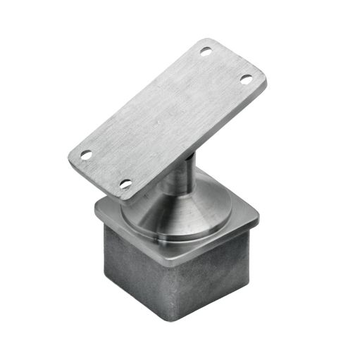 Stainless steel rails systems adjustable post cap for