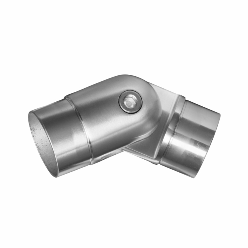 Stainless steel round quot adjustable elbow
