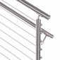 "Stainless Steel Round 1.5"" Handrail - 20ft Stick"