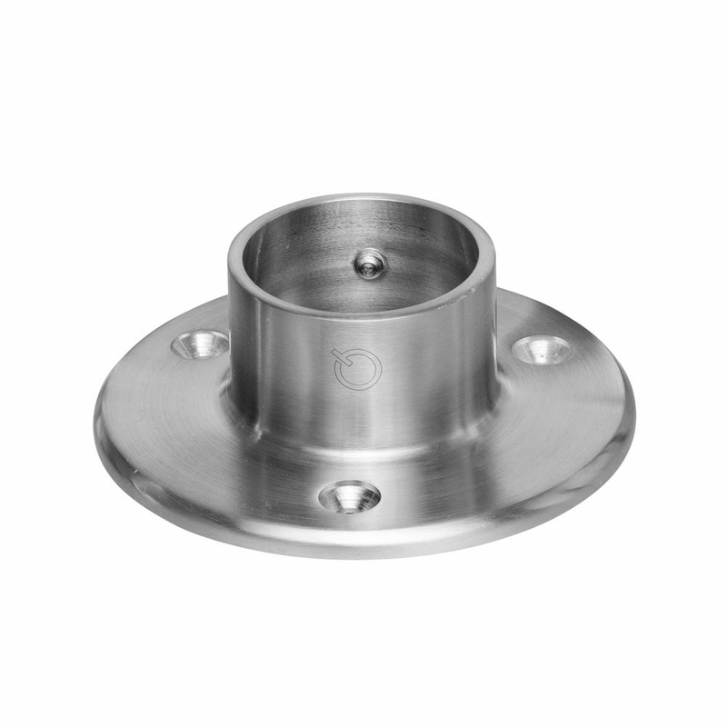 Stainless steel round quot wall flange