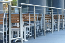 Stainless Steel Round Cable Railing - Seattle, WA