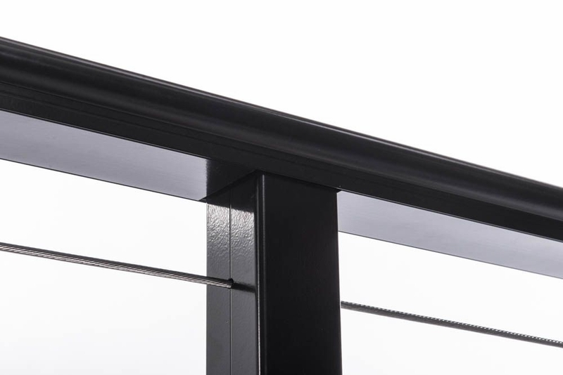 Deck Railing Top Rail Snap Cover