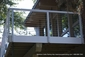 White Aluminum Railing System D Patton Washington DC