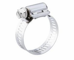 """10 Pack Breeze 62052H  Power Seal Clamps with Plated Screw Effective Diameter Range: 2-13/16"""" - 3-3/4"""" (71mm - 95mm)"""