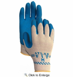 12 Pack Atlas Glove 300 Atlas Fit Super Grip Gloves - Small