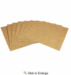 "3M 02105  150 Grit 9"" x 11"" Production Open Coat Sandpaper (210N) A weight - 100 Sheets per Sleeve"