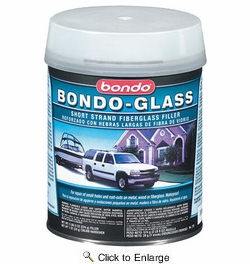 3M 272  Bondo Glass Fiberglass Reinforced Filler - Quart