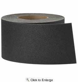 "3M 7733  4"" x 60' Safety-Walk Black Heavy Duty Tread Anti-Slip Tape (59512)"