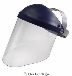 3M 90028  TEKK Protection Professional Faceshield with Head Gear