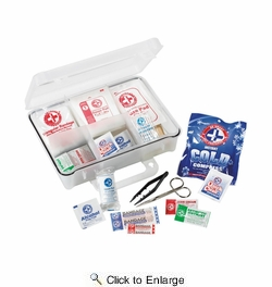 3M 94118-80025T  First Aid Kit Construction/Industrial 118-Piece