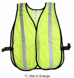 3M 94601  TEKK Protection Day/Nighttime Hi-Viz Reflective Safety Vest
