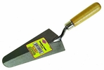 """AJC Tools 027-RT7  7"""" Round Nose Gauging Trowel with Wood Handle"""