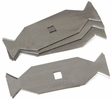 AJC Tools 059-BTB  Bow Tie Roofing Blades - 5 Blades per Package