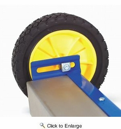 "AJC Tools 070-RMS  30"" Rolling Magnetic Sweeper with Folding Handle"