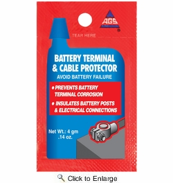 American Grease Stick BT-1  Battery Terminal & Cable Protector Dielectric Grease 4 gram Single Use Packet