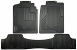Armor All 78990  3 Piece Rubber Oe Style Full Coverage Truck Floor Mats - Black