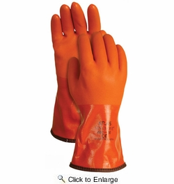 Atlas Glove 460 Atlas Vinylove Cold Resistant Insulated Gloves - X-Large