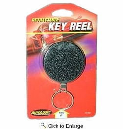 AutoLogix 55-4001  Retractable Key Reel Key Chain